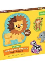 Touch & Feel Puzzle - Jungle Animals