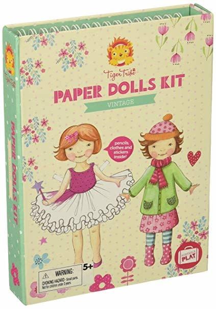 Vintage Paper Doll Kit