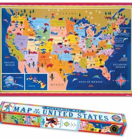Map of the United States Poster