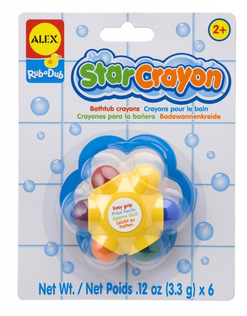 Draw in the Tub Star Crayon