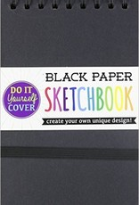 DIY Cover Sketchbook Black Small