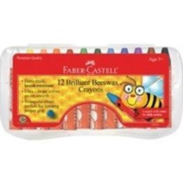 12ct Brilliant Beeswax Crayons