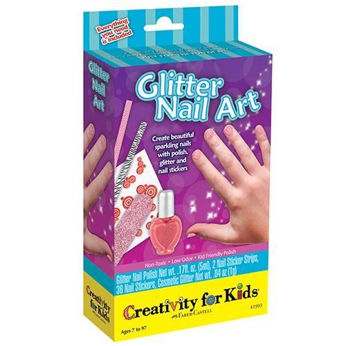 Glitter Nail Art Mini kit