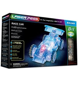 Laser Pegs Builder - Race Car 8in1