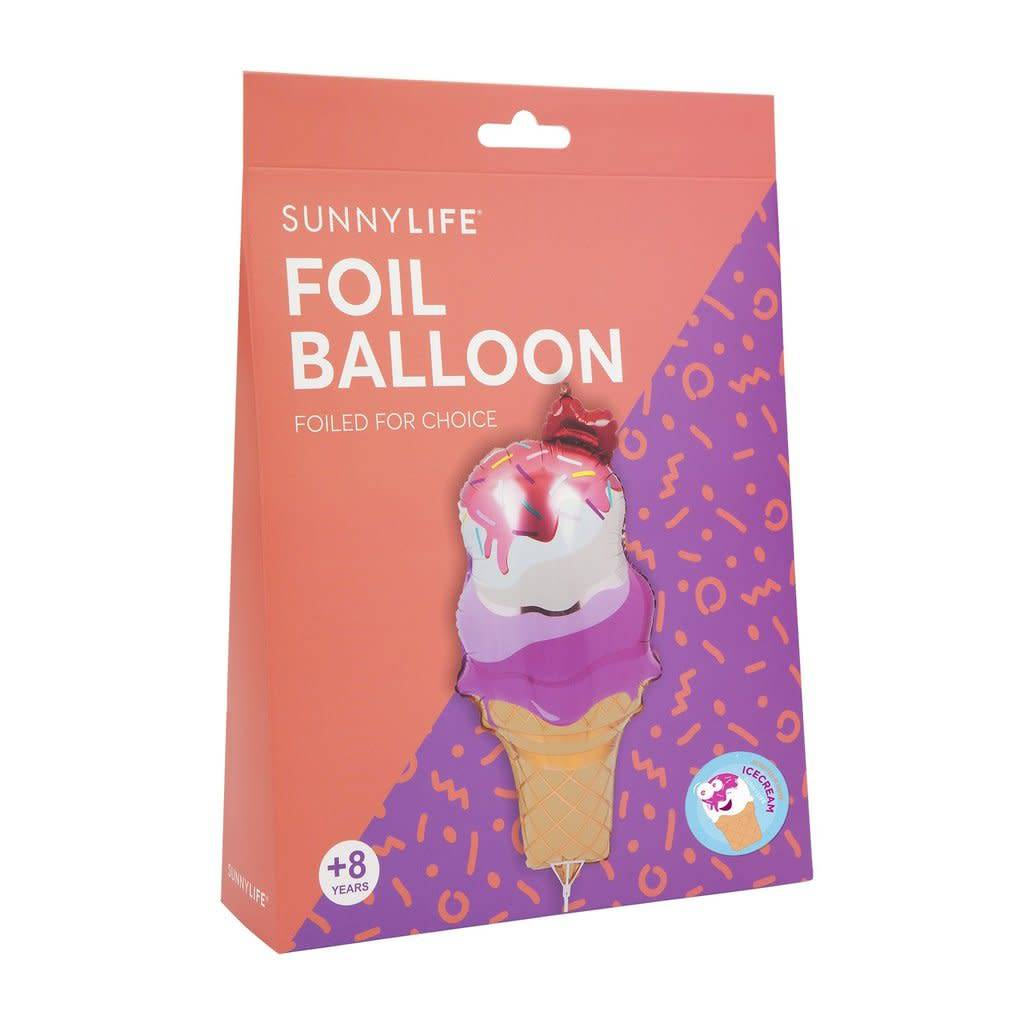 Sunnylife, LLC Foil Balloon - Ice Cream