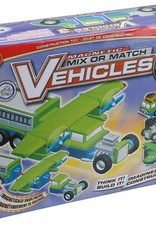 Magnetic Mix or Match Vehicles set of 3
