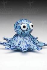 Glass Octopus - blue glow