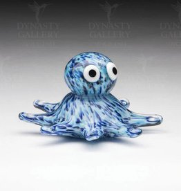 Glass Octopus - blue glow