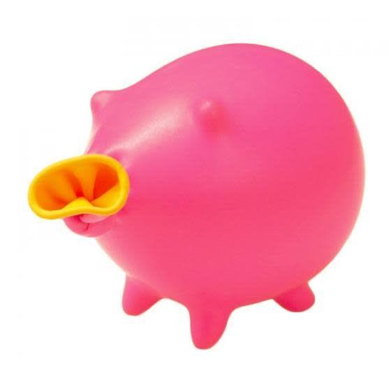 Mammal P Pig Balloon - Pink