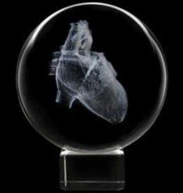 Crystal Sphere - Heart