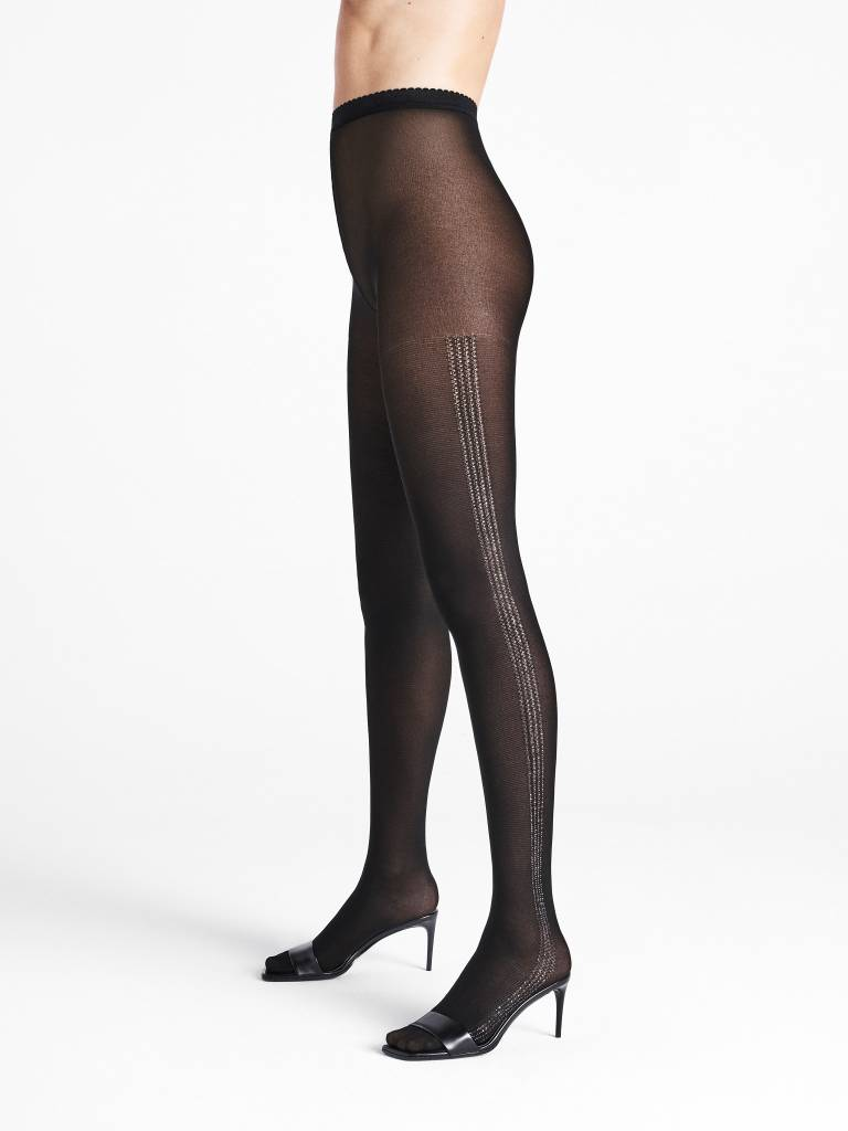 WOLFORD 14722 Silver Dust Tights