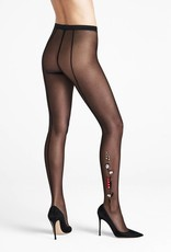 WOLFORD 19235 Wildflower Embroidery Tights