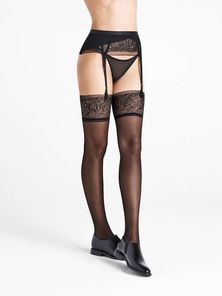 WOLFORD 28128 True Blossom Stocking