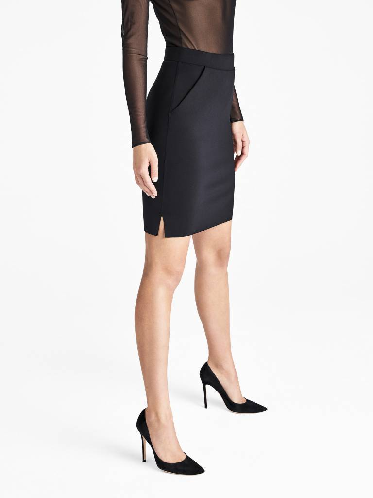 WOLFORD 52653 Midnight Grace Skirt