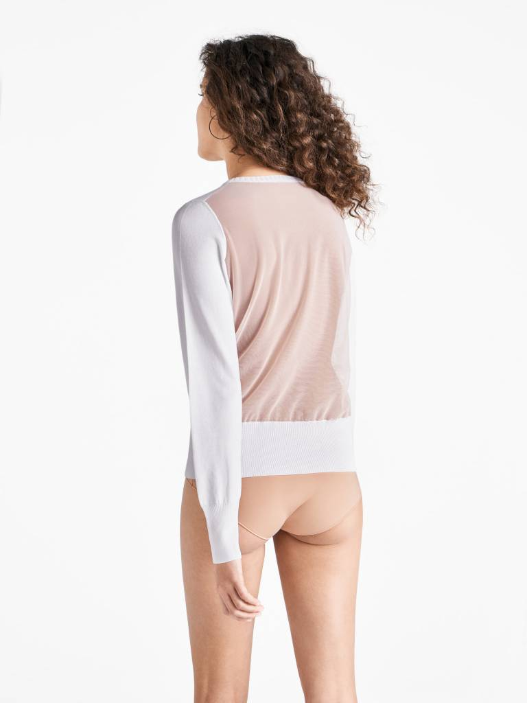 WOLFORD 52658 Mellow Sea Pullover