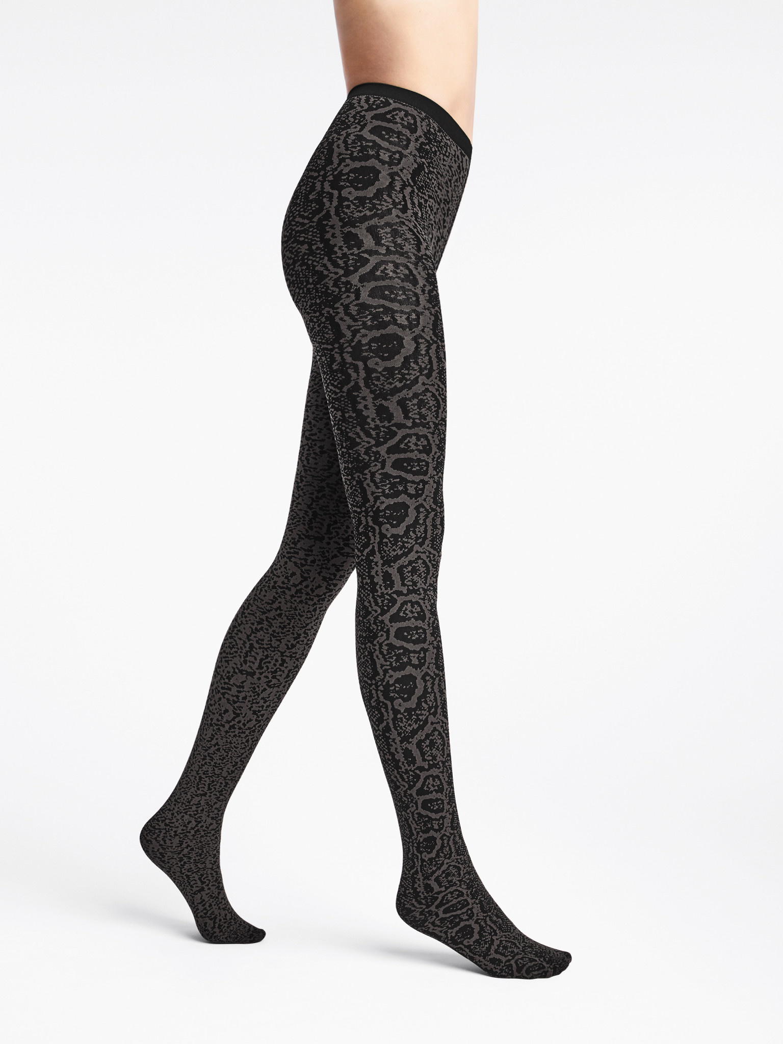 WOLFORD 14751 Blotched Snake Tights