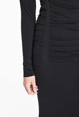 WOLFORD 50762 Fatal Drape Dress