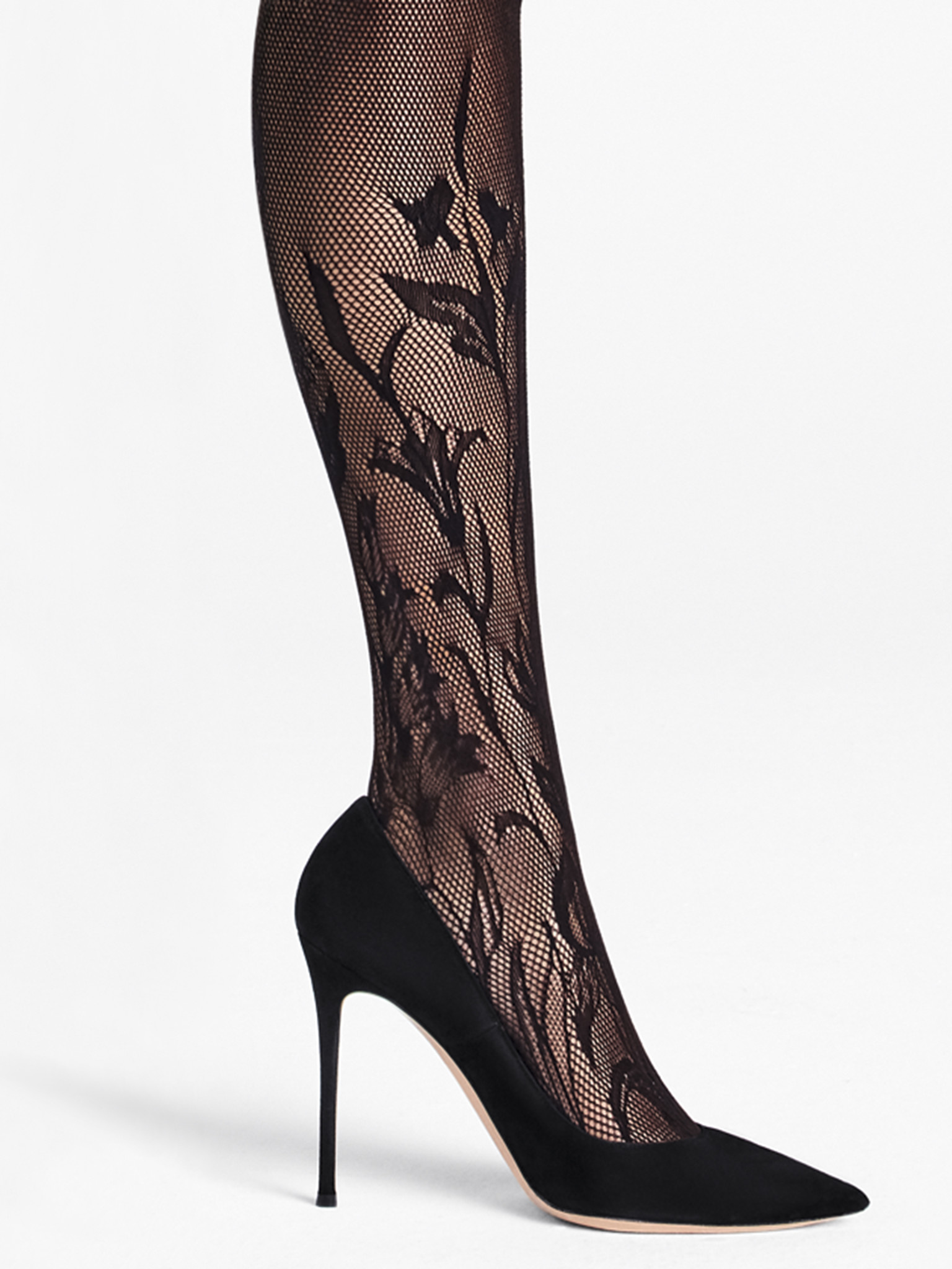 WOLFORD 19236 Wildflower Net Tights