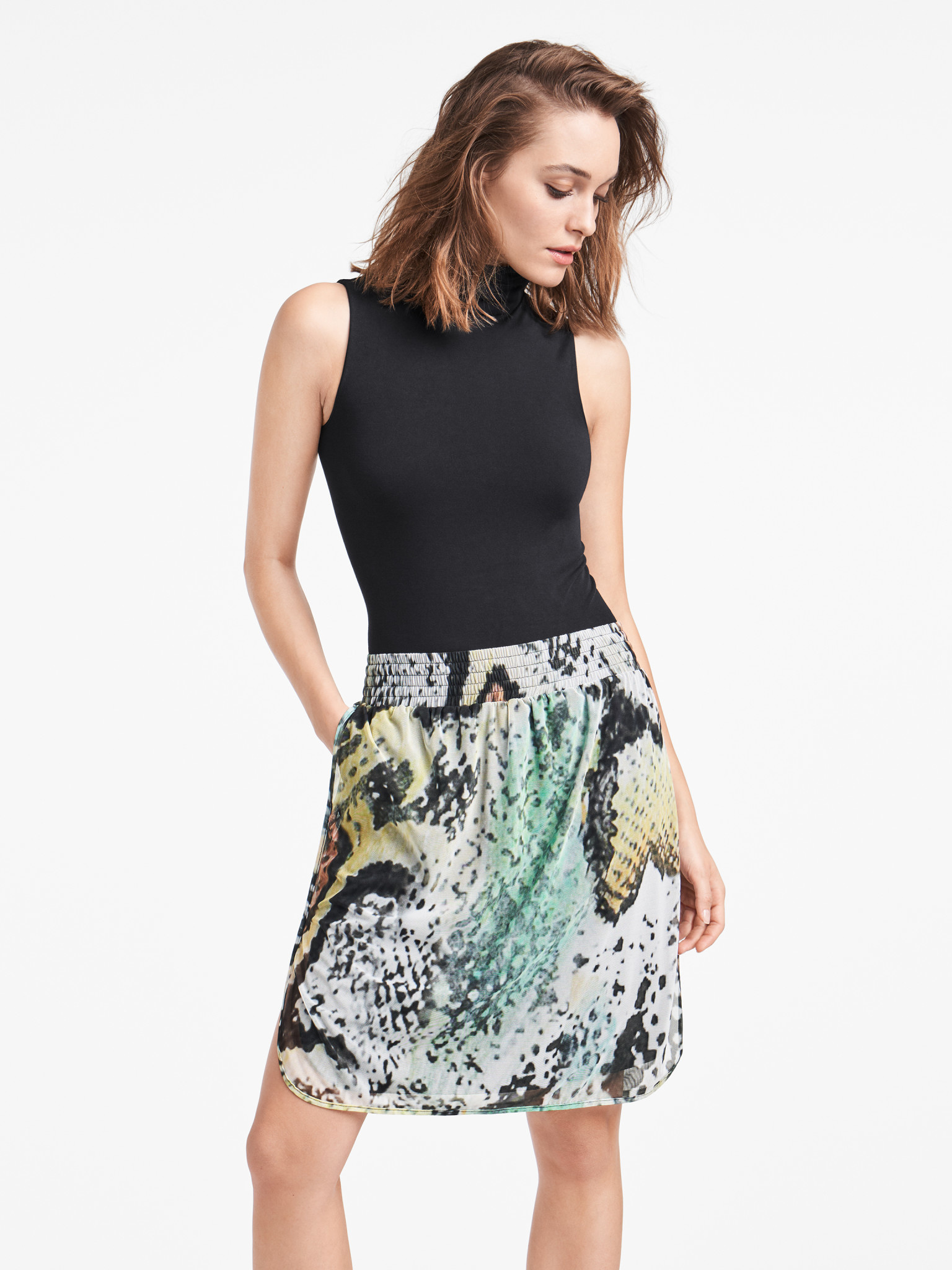 WOLFORD 52686 Serpentes Skirt