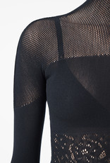 WOLFORD 52687 Poison Dart Net Pullover