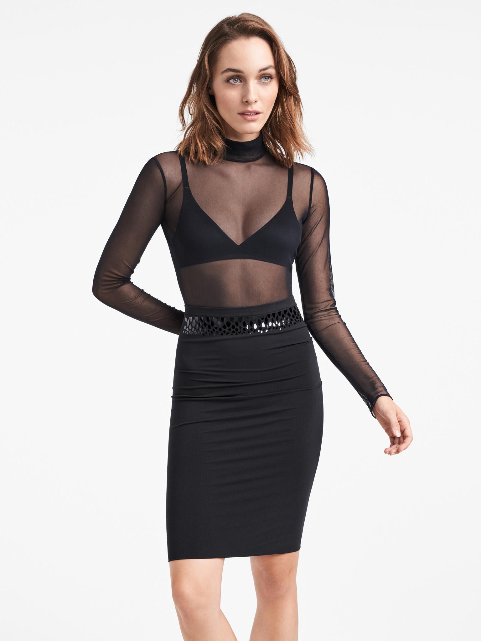 WOLFORD 50779 Snake Shimmer Dress