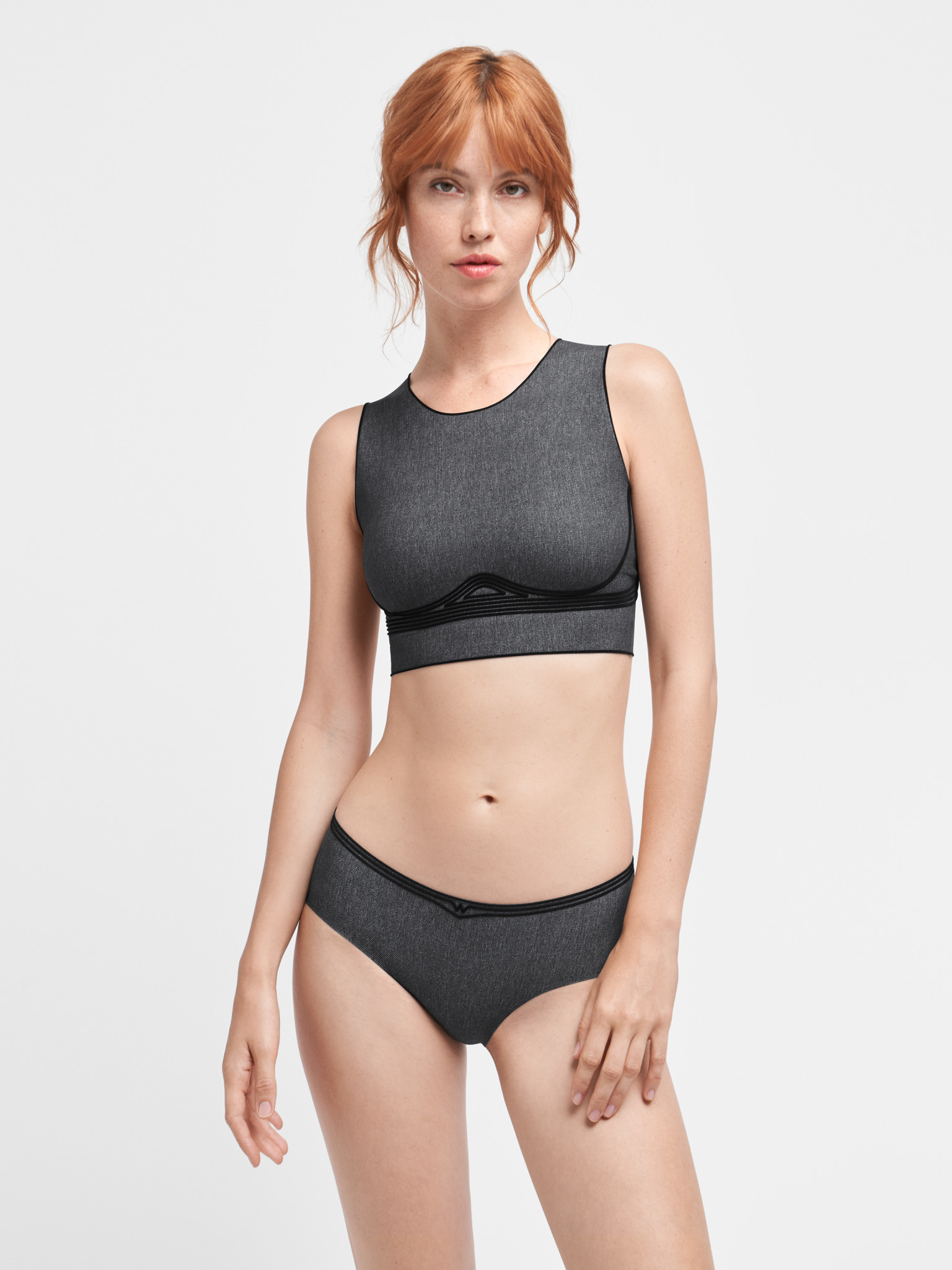 WOLFORD 52767 Taylor Crop Top