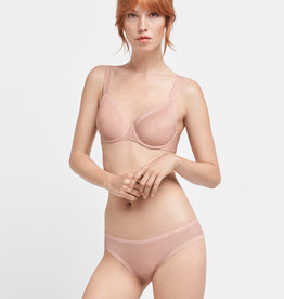 WOLFORD Sheer Touch Flock Tanga