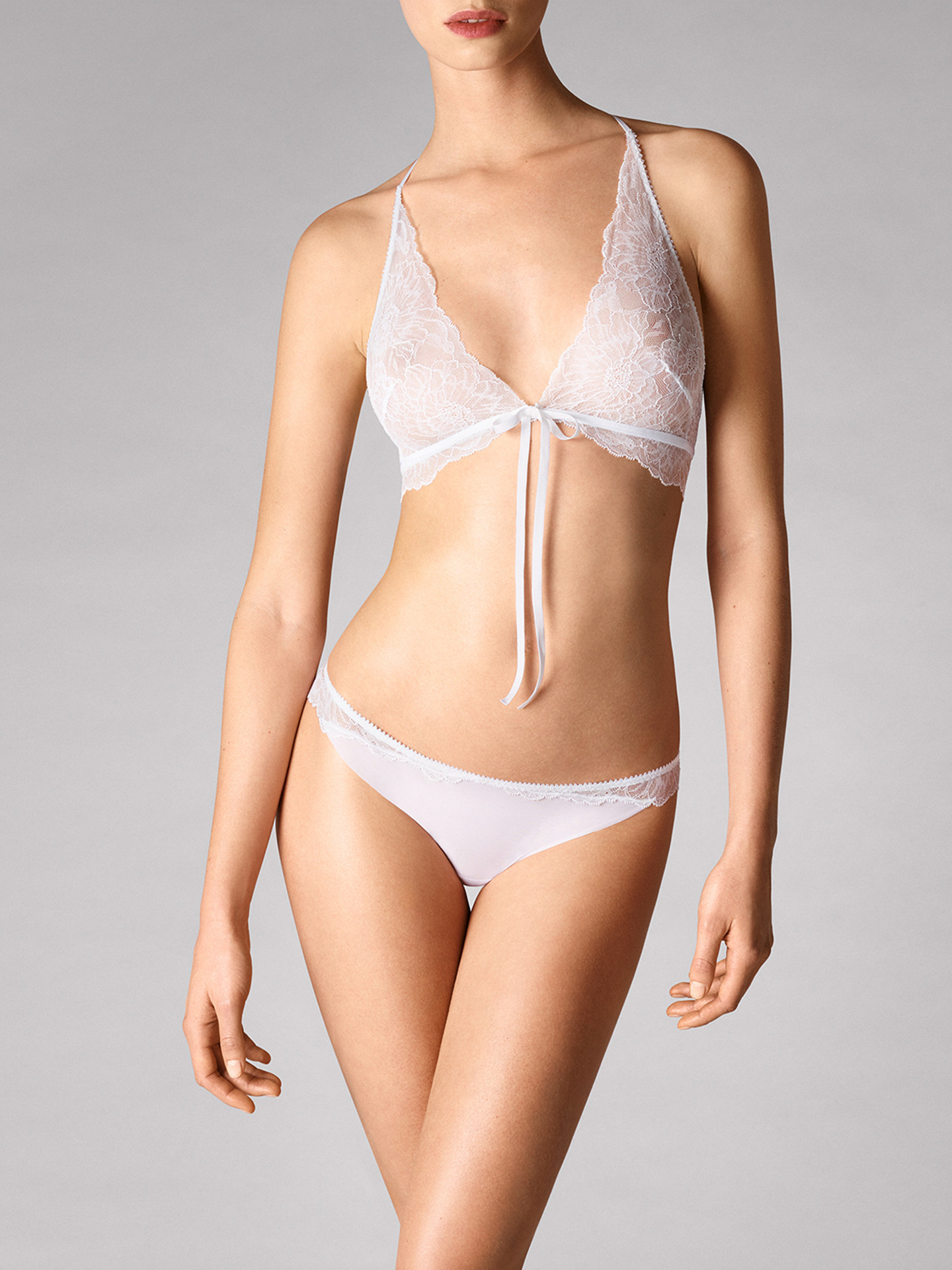 WOLFORD 69743 Stretch Lace Triangle Bra