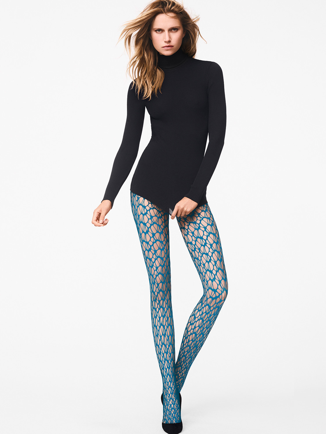 WOLFORD 19201 Net Tights
