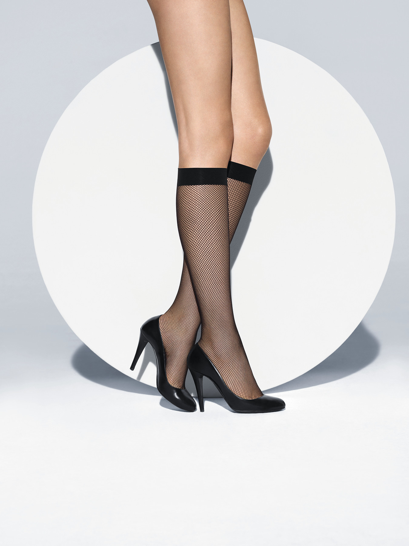 WOLFORD 31545 Twenties Knee-Highs