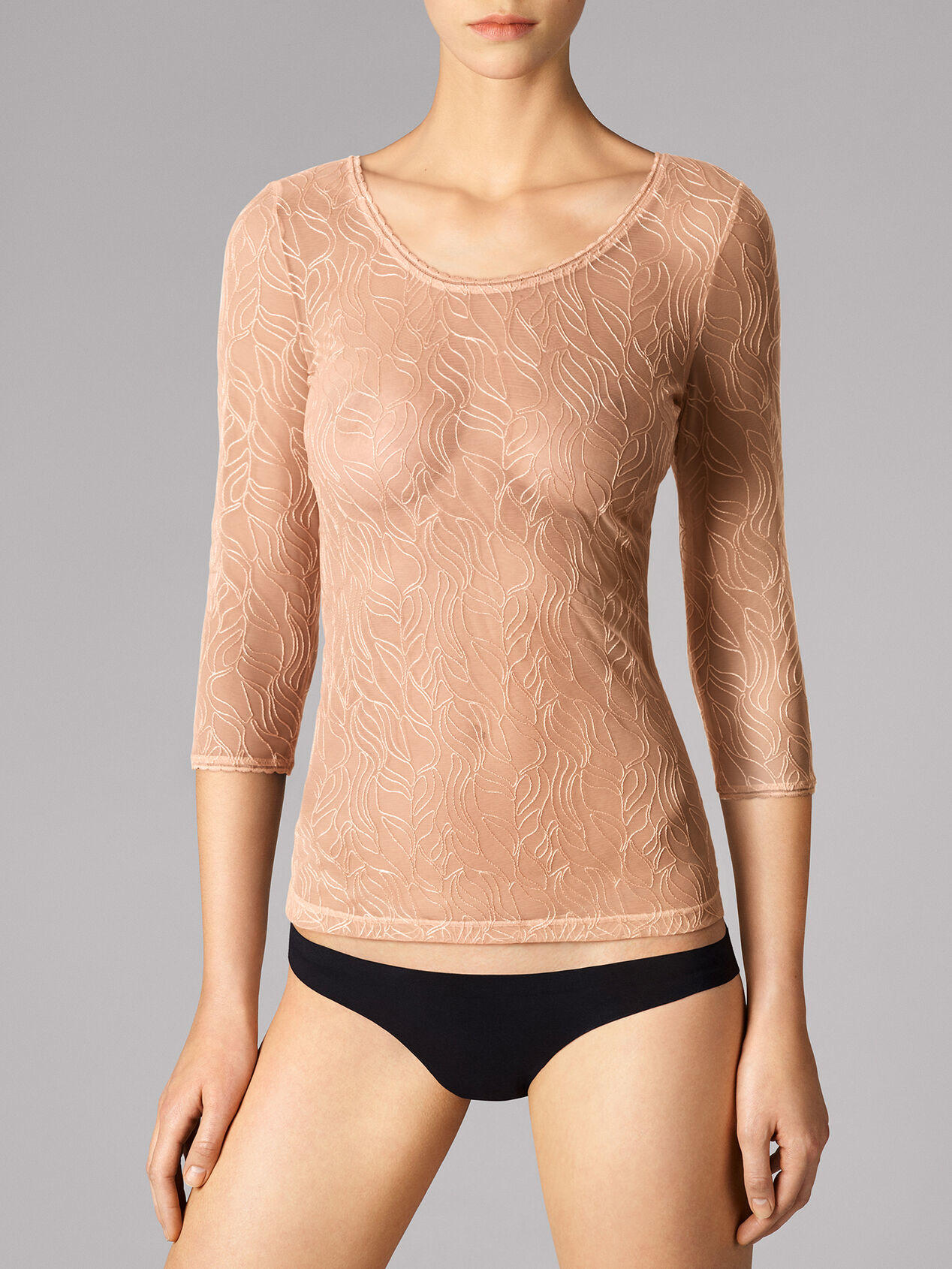 WOLFORD 59941 Leafage Pullover