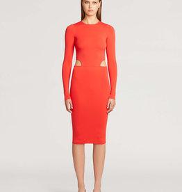 WOLFORD Cutout Midi Dress