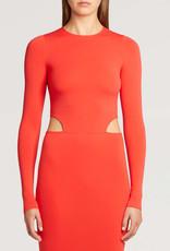 WOLFORD 50794 Cutout Midi Dress