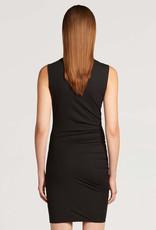 WOLFORD 52866 Draped Mini Dress