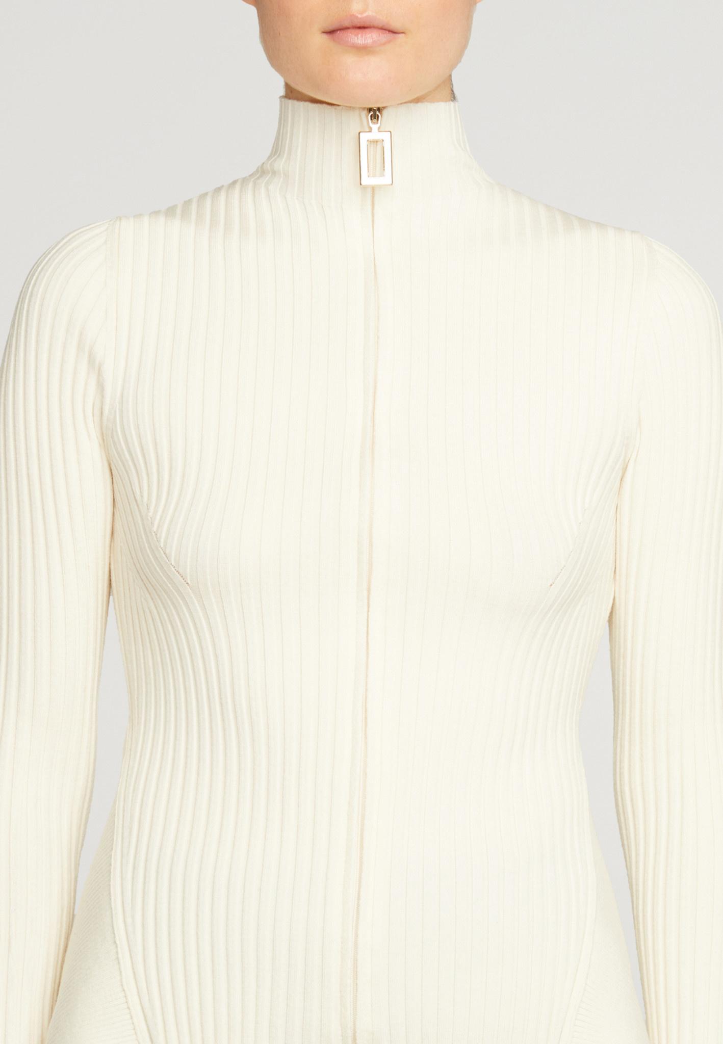 WOLFORD 52818 Thelma Strip Cardigan
