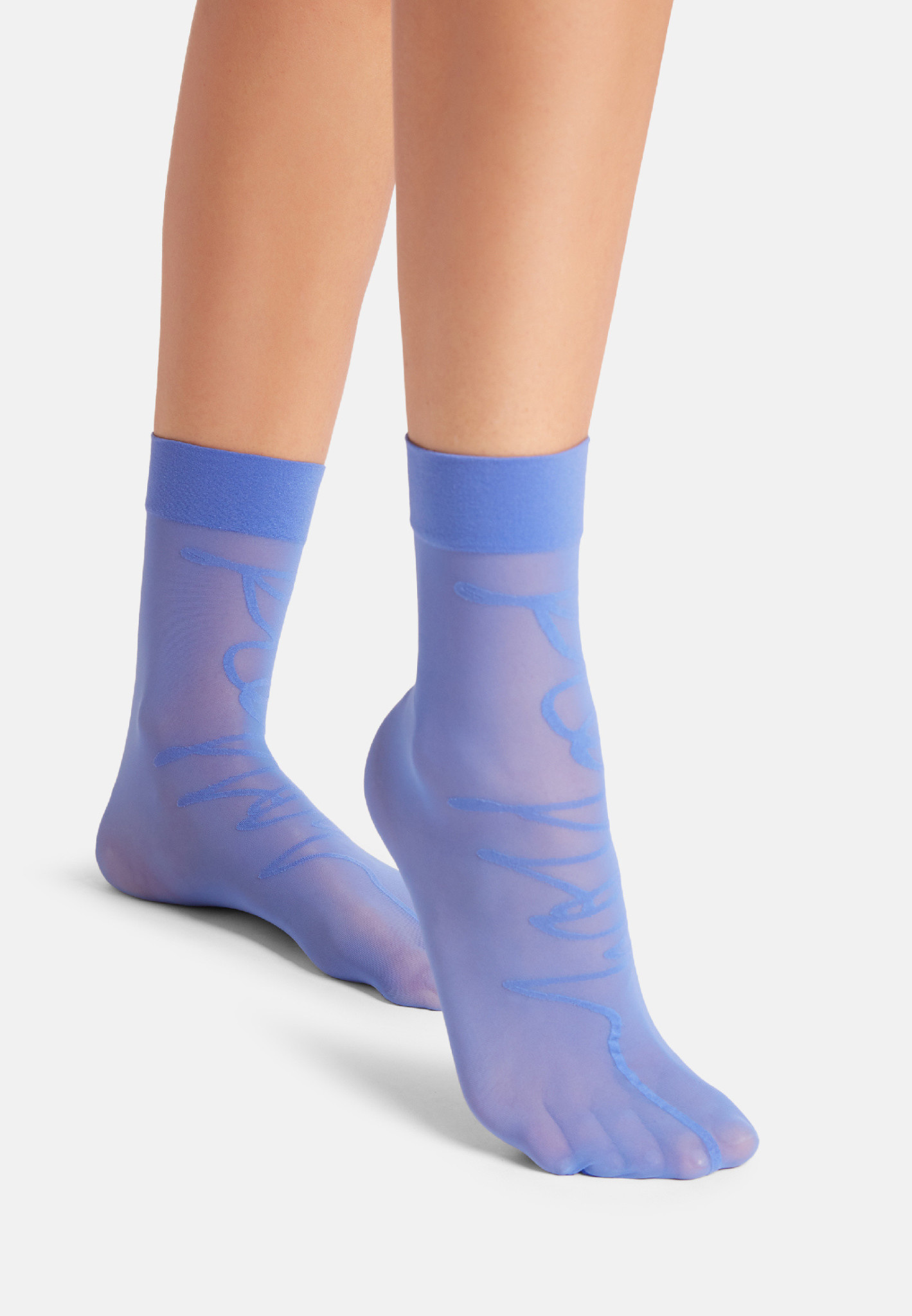 WOLFORD 46001 Aurora Script Socks