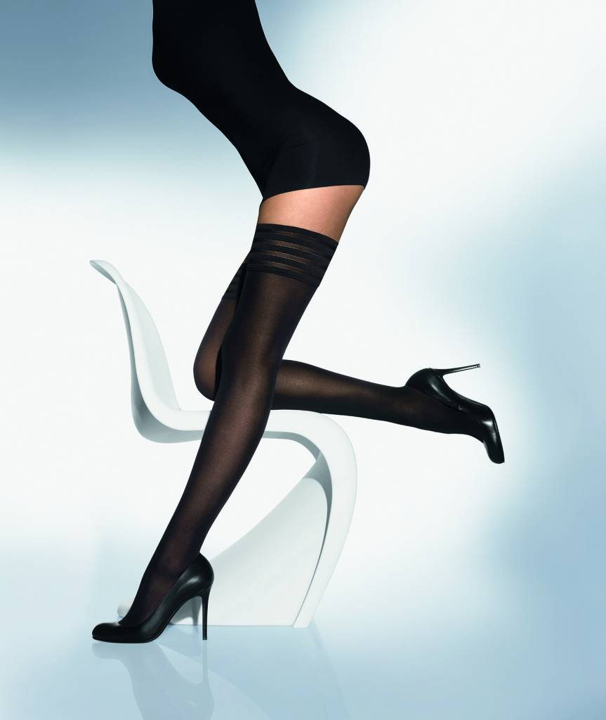 WOLFORD 20942 Velvet de Luxe 50 Stay-Up