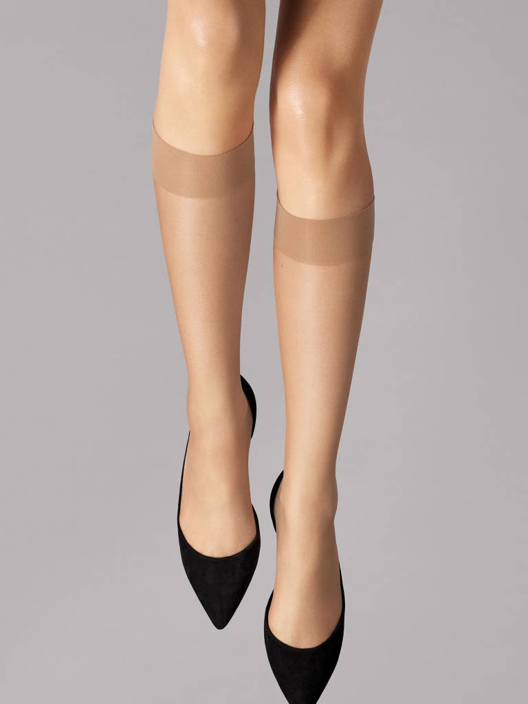 WOLFORD 30203 Nude 8 Knee-Highs