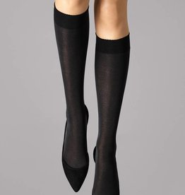 WOLFORD Velvet de Luxe 50 Knee-Highs