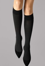 WOLFORD 31060 Cotton Velvet Knee-Highs