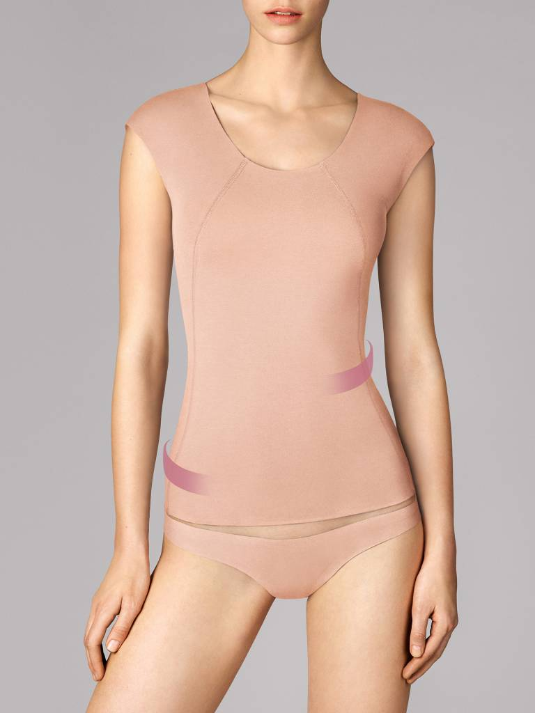 WOLFORD 59942 Cotton Contour Forming Shirt