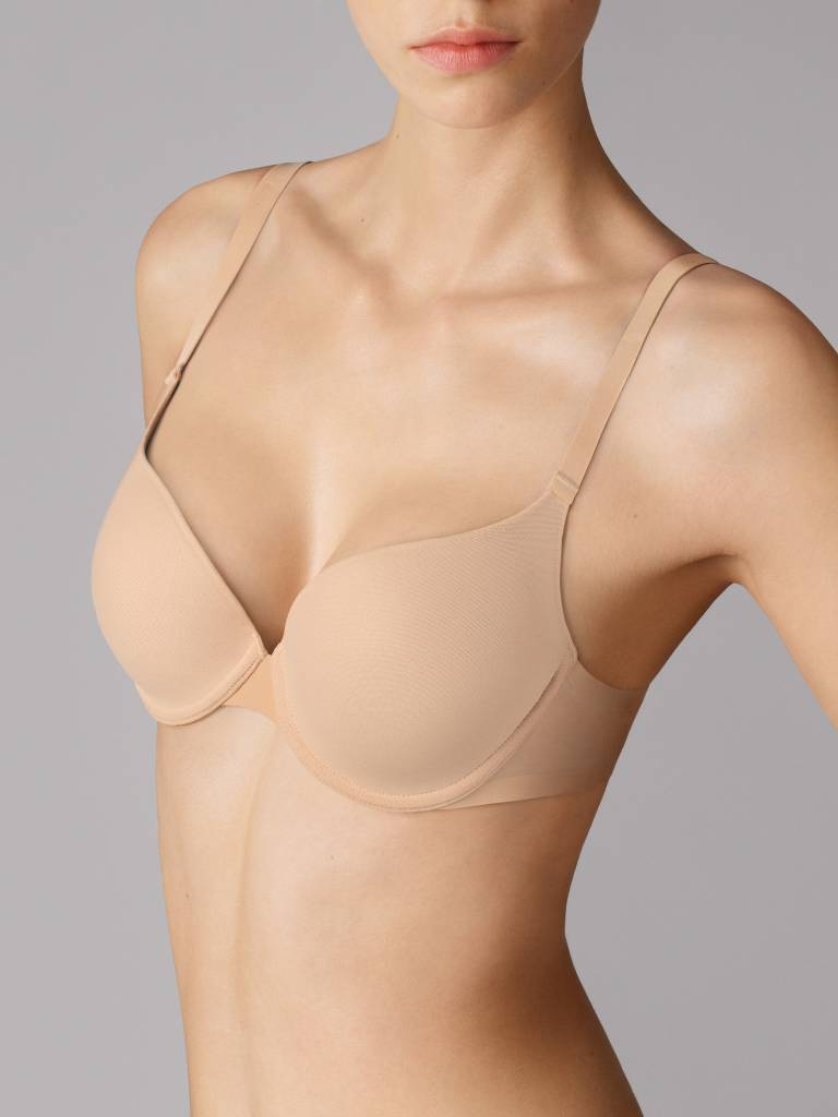 WOLFORD 69572 Tulle Push-Up Bra