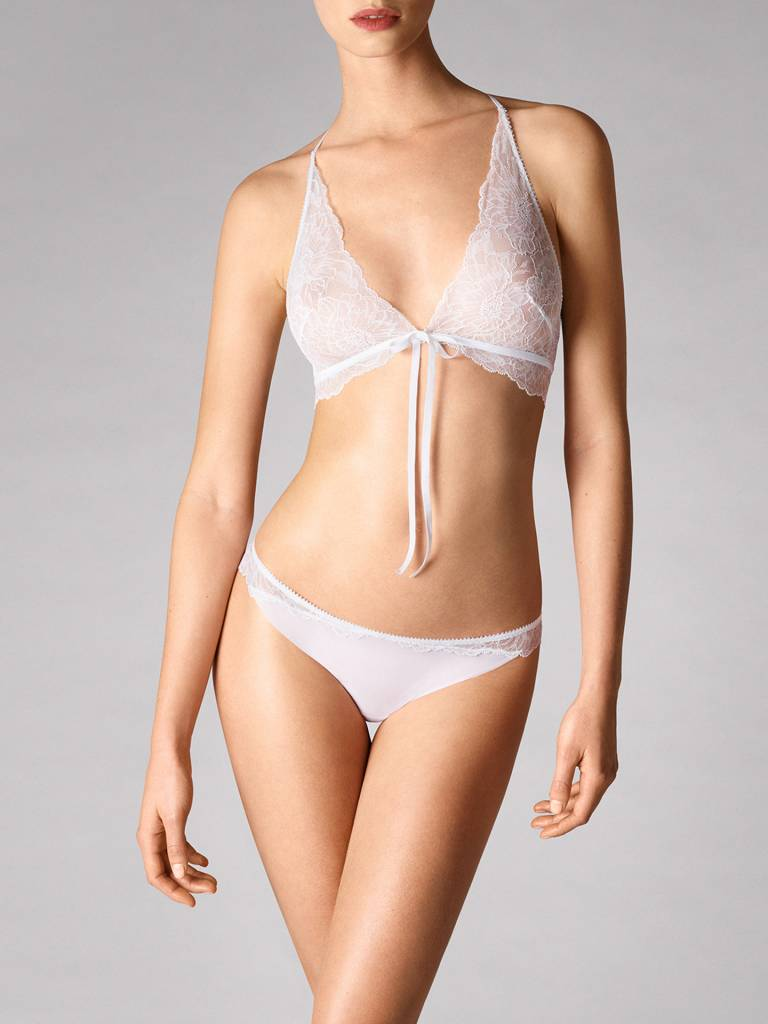 WOLFORD 69747 Stretch Lace String Panty