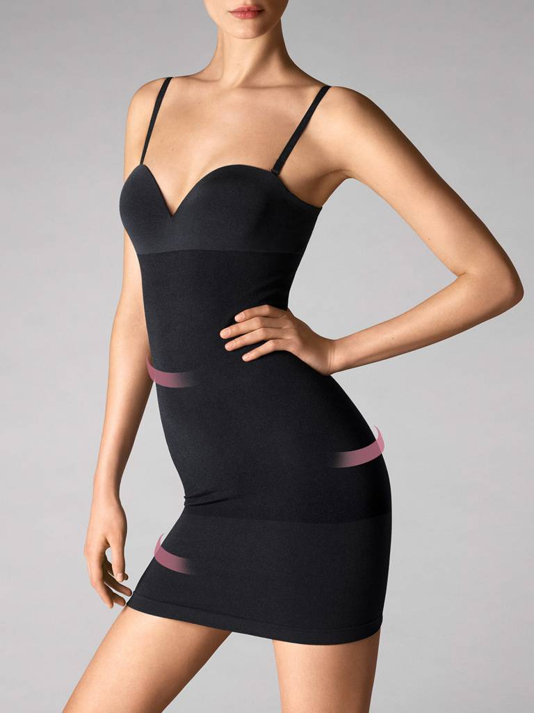 WOLFORD 51182 Opaque Naturel Forming Dress