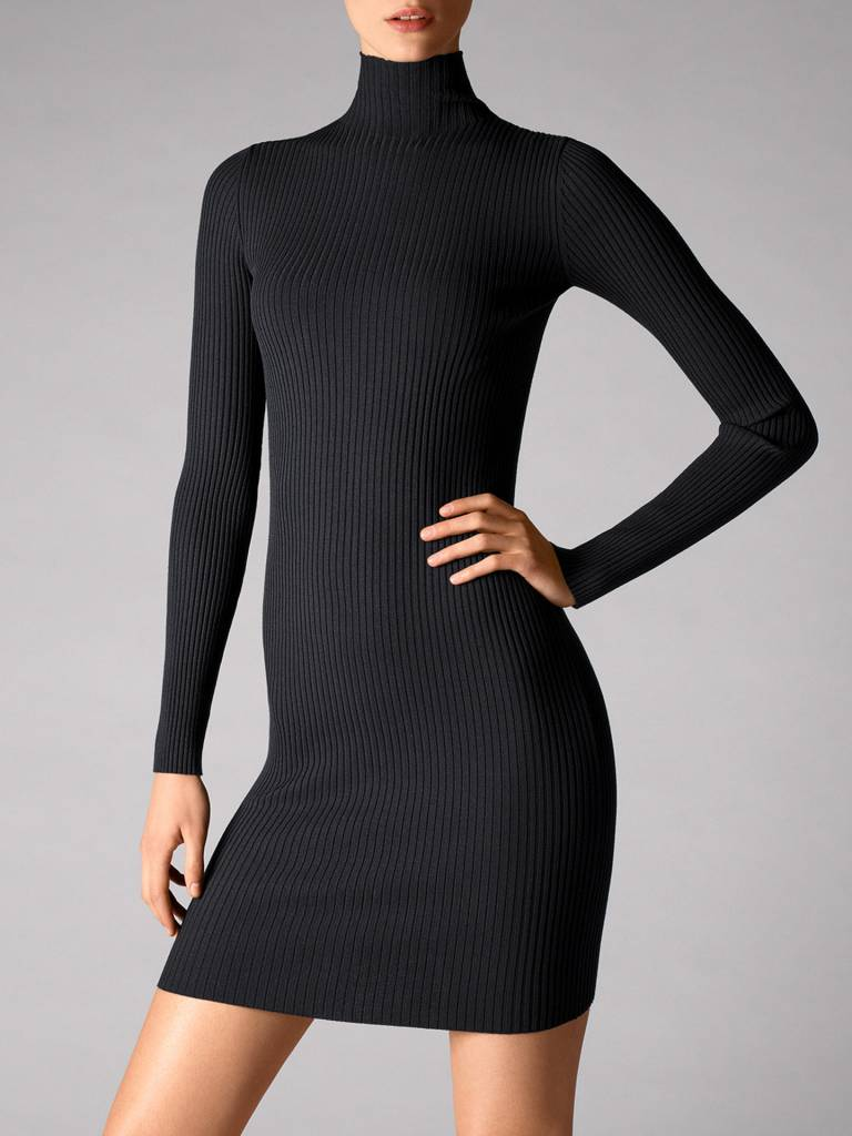 WOLFORD 52543 Viscose Rib Dress