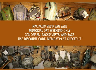 Packs/Vests/Bags
