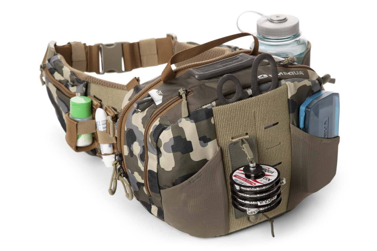 Umpqua Feather Merchants ZS2 Ledges Waist Pack 650 Camo