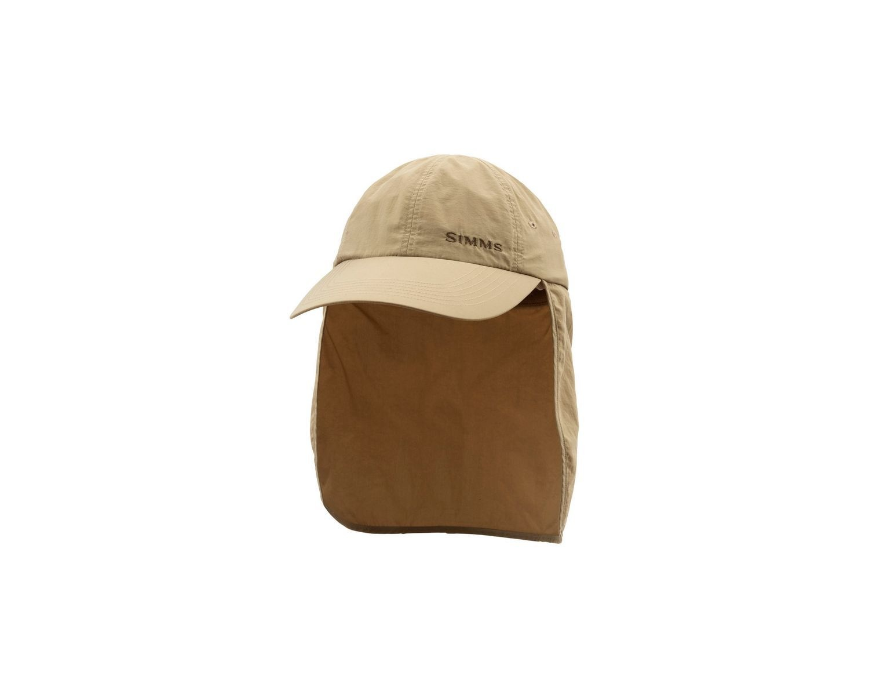 Simms Fishing SIMMS BUGSTOPPER SUNSHIELD CAP CORK