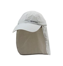 Simms Fishing SUPERLIGHT SUNSHIELD CAP STERLING