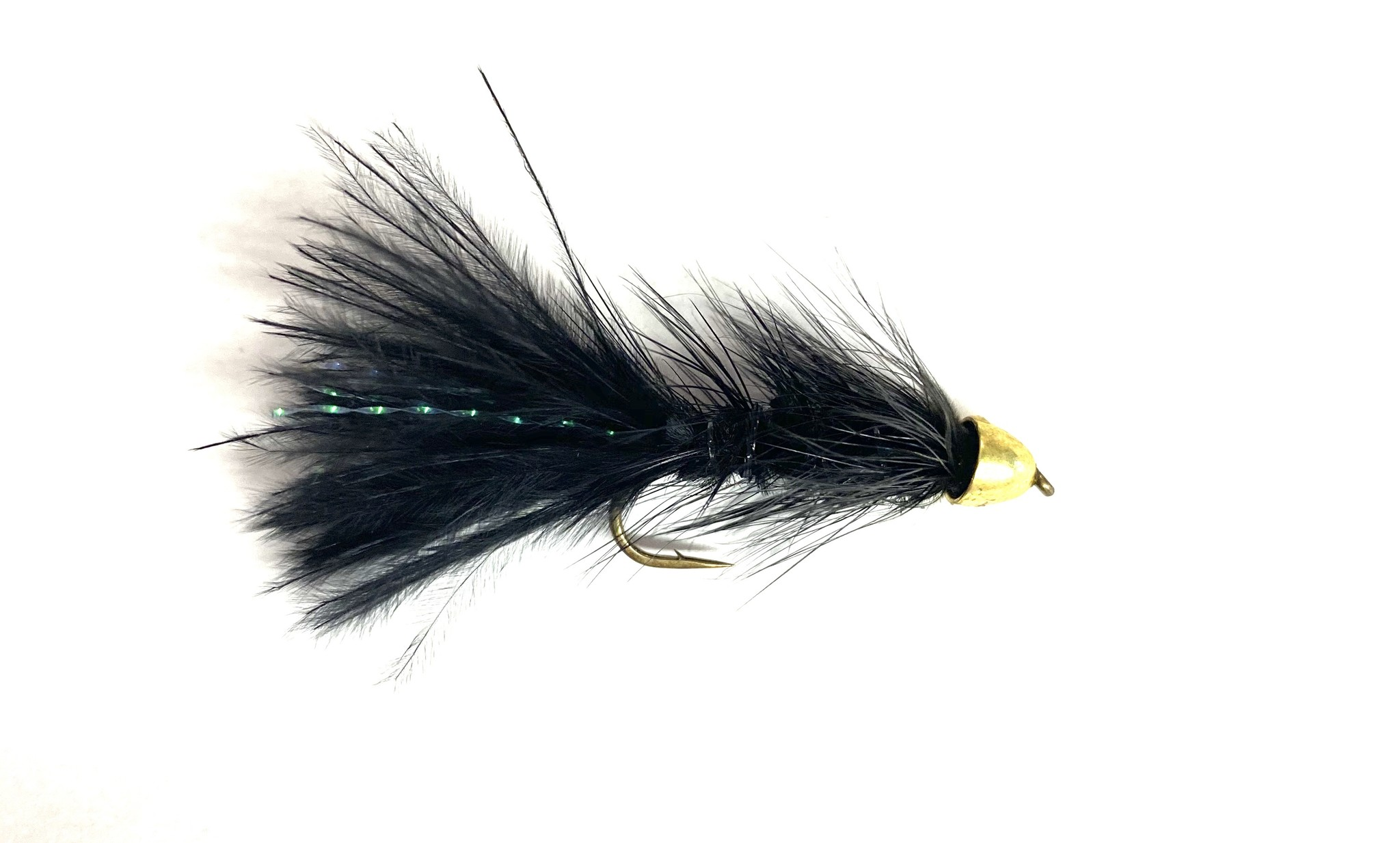 Solitude Fly Company Beldar Bugger Black
